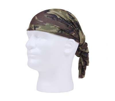 Rothco Woodland Camo Multi Use Tactical Wrap - 5304