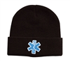Rothco Black Star of Life Acrylic Watch Cap - 5346