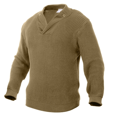 Rothco Khaki Vintage Mechanics Sweater - 5349