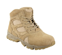 Rothco Forced Entry 6 Inch Desert Tan Deployment Boots - 5368