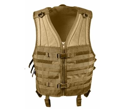 Rothco Coyote Molle Modular Vest - 5404
