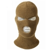 Rothco Coyote Brown 3-Hole Acrylic Face Mask - 5439