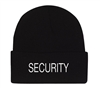 Rothco Black Security Acrylic Watch Cap - 5442