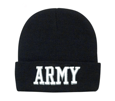 Rothco Army Embroidered Watch Cap - 5445