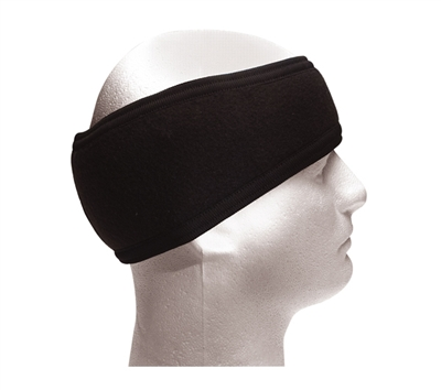 Rothco Black Double Layer Headband - 5523