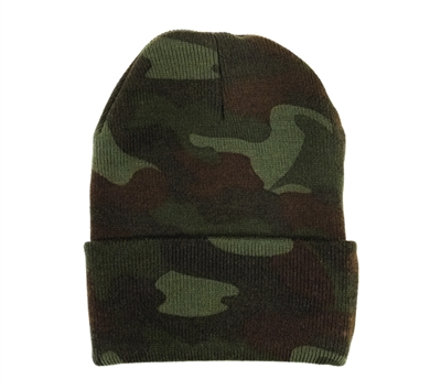 Rothco Woodland Camo Watch Cap - 5702