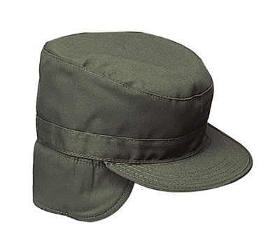 Rothco Olive Drab Cap with Flaps - 5712