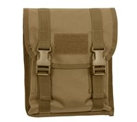 Rothco MOLLE Coyote Brown Utility Pouch - 5724