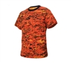 Rothco Orange Digital Camo T-Shirt - 5735