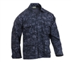 Rothco Midnight Digital Camo BDU Shirt - 5751