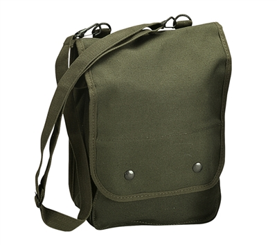 Rothco Olive Drab Canvas Shoulder Bag - 5796