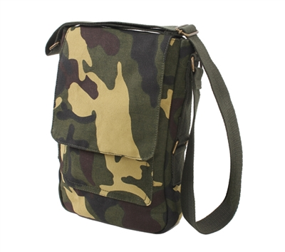 Rothco Woodland Camo Vintage Tech Bag - 5798