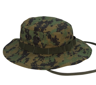 Rothco Digital Woodland Camo Boonie Hat - 5827