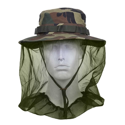 Rothco Boonie Hat With Mosquito Netting - 5833