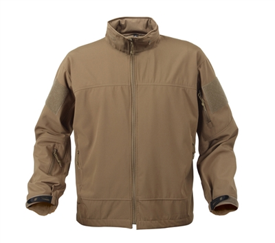 Rothco Coyote Lightweight Soft Shell Jacket - 5862