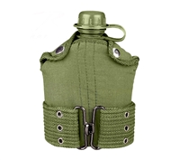 Rothco Olive Drab Plastic Canteen Pistol Belt Kit - 588