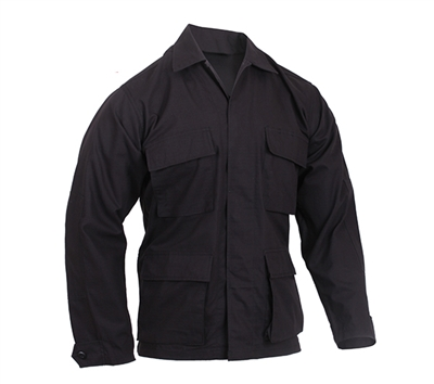 Rothco Black BDU Shirt - 5920