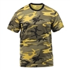Rothco Yellow Camouflage T-Shirt - 5994