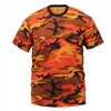 Rothco Orange Camouflage T-Shirt - 5997