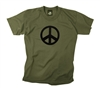 Rothco Olive Drab Peace Sign T-Shirt - 60057