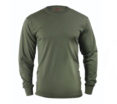Rothco Olive Drab Long Sleeve Shirt - 60118
