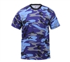 Rothco Blue Camouflage T-Shirt - 60173