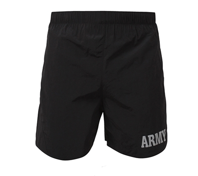 Rothco Black Pt Army Shorts - 6021