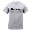 Rothco Gray Marines Pt T-Shirt - 6032
