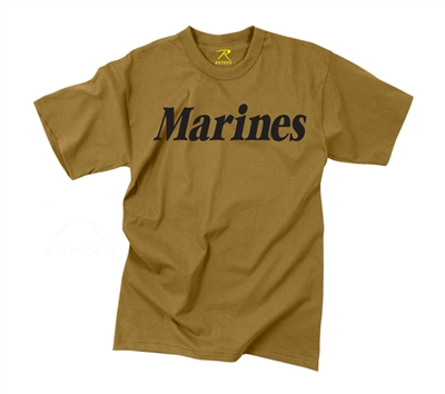 Rothco Coyote Marines T-shirt - 60457