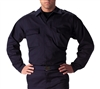 Rothco Navy BDU 2 Pocket Tactical Shirt - 6110