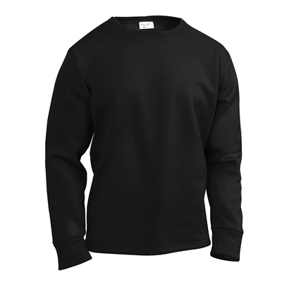Rothco Black Polypro Top - 6118