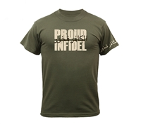 Rothco Olive Drab Proud Infidel T-Shirt - 61360