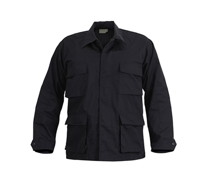 Rothco Black SWAT BDU Shirt - 6210