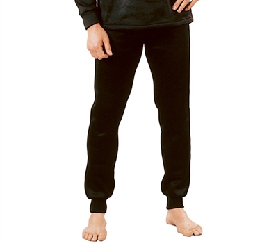Rothco Black Polypro Bottoms - 6245