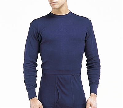 Rothco Navy Single Layer Polypro Top - 6254