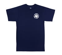Rothco Navy 2-Sided EMT T-Shirt - 6337