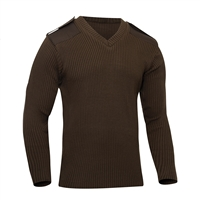 Rothco Acrylic V-Neck Commando Sweater - 6345