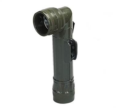 Rothco Olive Drab Angle Head Flashlight - 638