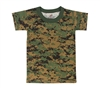 Rothco Kids Digital Woodland Camo T-Shirt - 6396