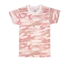Rothco Kids Pink Camouflage T-Shirt - 6397