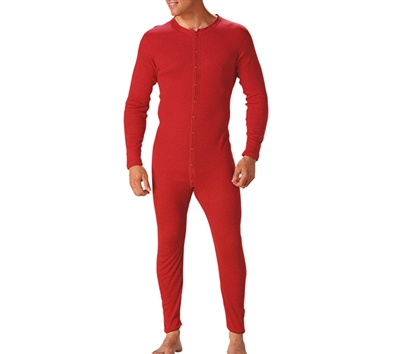 Rothco Red Union Suit - 6453