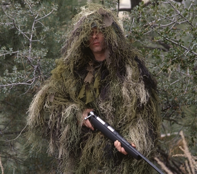 Bushrag Ultra Light Long Ghillie Jacket - 65128