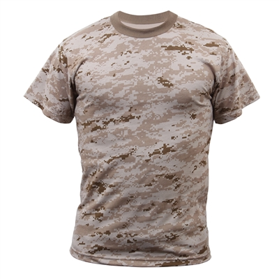 Rothco Kids Desert Digital Camo T-Shirt - 6578