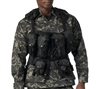 Rothco Black Tactical Assault Vest - 6580