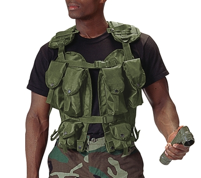 Rothco Olive Drab Tactical Assault Vest - 6583