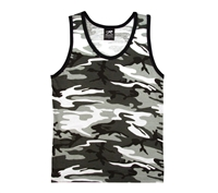 Rothco City Camouflage Tank Top - 6601