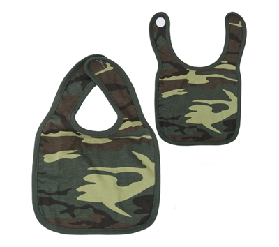 Rothco Infant Woodland Camo Bib - 66045