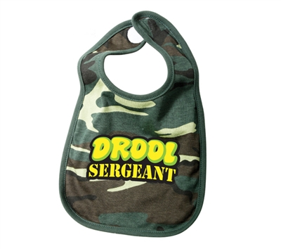 Rothco Infant Woodland Camo Drool Sgt Bib - 66048