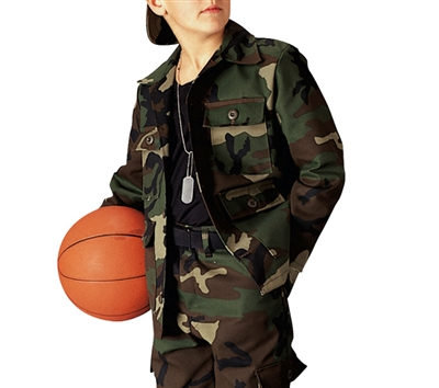 Rothco Kids Woodland Camo Shirt - 66102