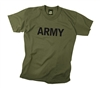 Rothco Kids Olive Drab Army T-Shirt - 66136